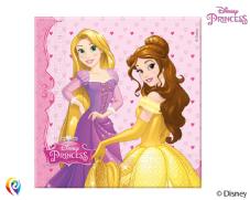 20 Disney Princess Paper Party Napkins